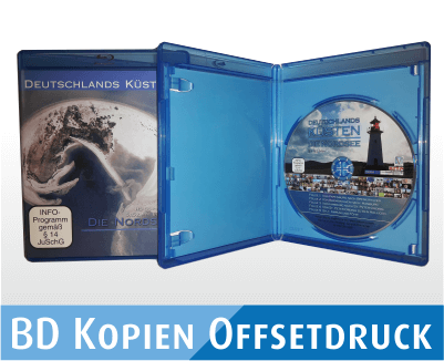 BD-R Kopien im Offsetdruck