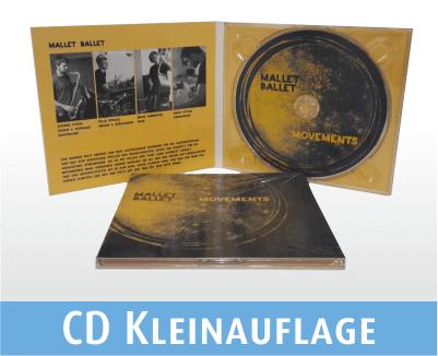 CD kopiert und bedruckt im Digi Pack