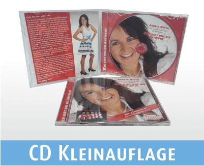 CDs brennen lassen | Kleinauflagen im Jewel Case