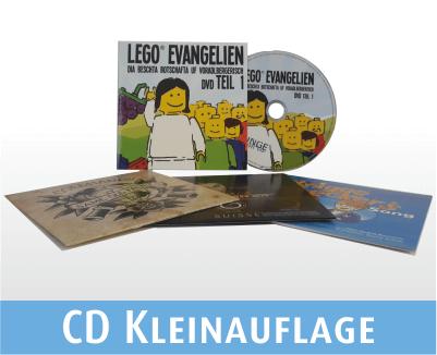 CD brennen lassen | Kleinauflage in Kartonstecktaschen