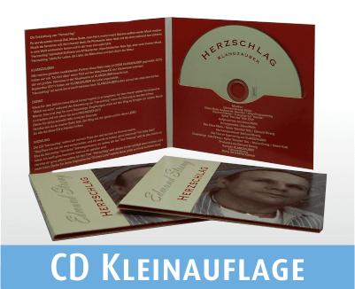 CD gebrannt und bedruckt im Digi File