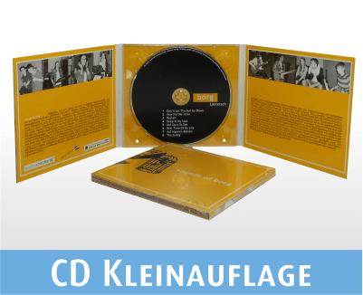 gebrannte CD im 6 seitigen Digi Pack