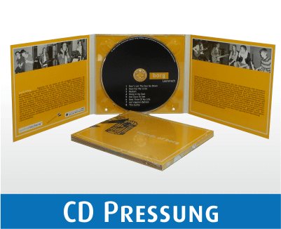 CD Pressung im Digi Pack - 6 seitig