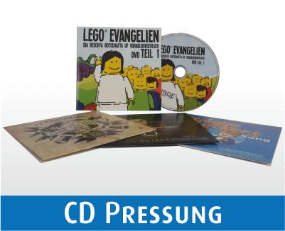 CD Pressung in Kartonstecktaschen