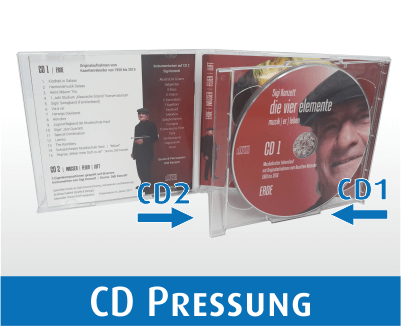 Doppel CD Pressung in Brilliantbox