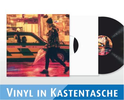 Vinyl in Kastentasche / Cover 4c bedruckt