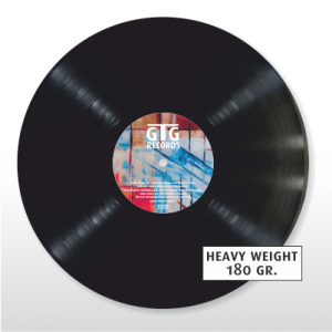schwarze Vinyl - Heavy Weight - 180g