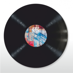 schwarze Vinyl - standard