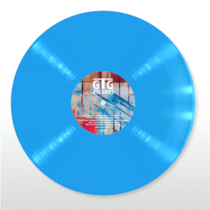 Colored Vinyl - blau
