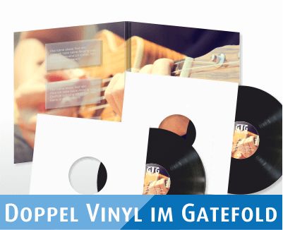 Doppel Vinyl im Gatefold